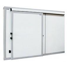 Дверной блок с откатной дверью POLAIR для холодильной камеры Полаир