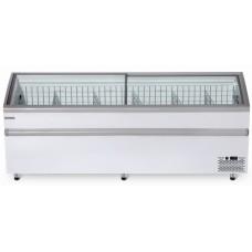Морозильная ларь-бонета Bonvini BFG 2100 с гнутыми стеклами СНЕЖ