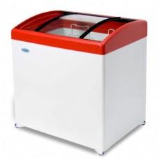 Холодильный ларь СНЕЖ МЛГ-250 с гнутым стеклом
