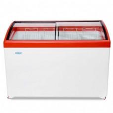 Холодильный ларь СНЕЖ МЛГ-400 с гнутым стеклом