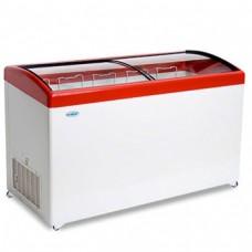 Холодильный ларь СНЕЖ МЛГ-500 с гнутым стеклом