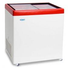 Холодильный ларь СНЕЖ МЛП-250 с прямым стеклом