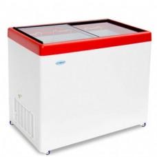 Холодильный ларь СНЕЖ МЛП-350 с прямым стеклом
