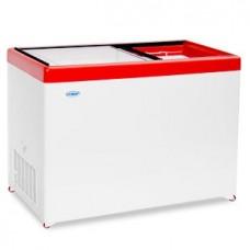 Холодильный ларь СНЕЖ МЛП-400 с прямым стеклом