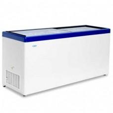 Холодильный ларь СНЕЖ МЛП-700 с прямым стеклом
