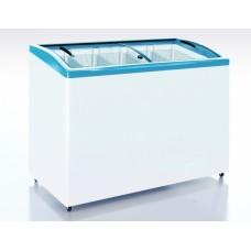 Морозильный ларь CF 300 C с гнутыми раздвижными стеклами ITALFROST