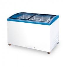 Морозильный ларь CF 400 C с гнутыми раздвижными стеклами ITALFROST