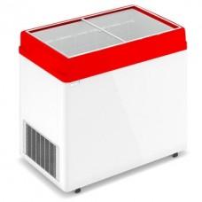 Морозильный ларь FROSTOR Gellar FG 350 C с прямым стеклом