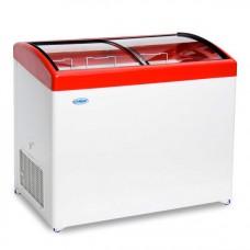 Морозильный ларь «СНЕЖ» МЛГ-350 с гнутым стеклом