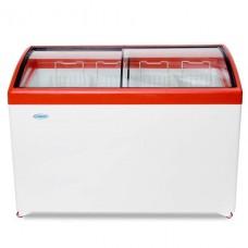 Морозильный ларь «СНЕЖ» МЛГ-400 с гнутым стеклом