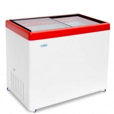 Морозильный ларь «СНЕЖ» МЛП-350 с прямым стеклом