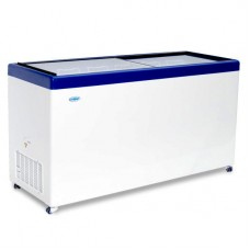 Морозильный ларь «СНЕЖ» МЛП-500 с прямым стеклом
