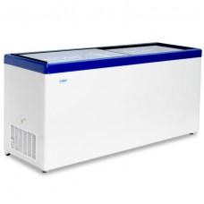 Морозильный ларь «СНЕЖ» МЛП-600 с прямым стеклом
