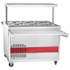 Прилавок для холодных закусок ПВВН-70ПМ-НШ Abat