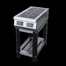 Индукционная плита Ф2ИП/800 на подставке Гриль Мастер