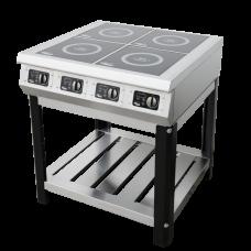 Индукционная плита Ф4ИП/800 на подставке Гриль Мастер