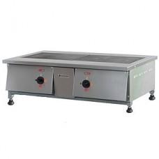 Плита электрическая 2-х конфорочная ПЭ-0,24Н настольная Тулаторгтехника