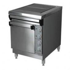 Плита электрическая 2-х конфорочная ПЭ-0,24ШП с духовкой Проммаш