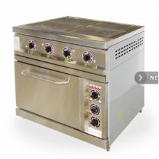 Плита электрическая 4-х конфорочная ПЭЖШ-4 с жарочным шкафом ОНЕГА