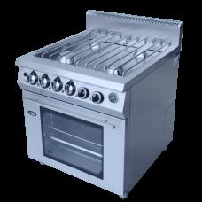 Плита газовая 4-х горелочная Ф4ПДГ/900 с духовкой Гриль Мастер