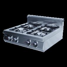 Плита газовая 4-х горелочная Ф4ПГ/800 настольная Гриль Мастер