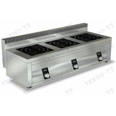 Плита индукционная трехконфорочная ИПП-310171 Техно-ТТ
