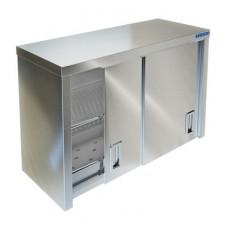 Полки настенные закрытые двери-купе для сушки посуды ПН Техно-ТТ