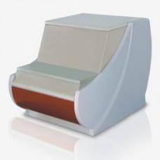 Неохлаждаемый прилавок - кассовый расчетный стол Нарочь 700 РС Golfstream