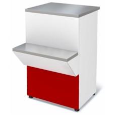 Неохлаждаемый прилавок - кассовый расчетный стол Нова П2629 МХММарихолодмаш
