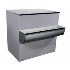 Неохлаждаемый прилавок - кассовый расчетный стол Полюс П-1