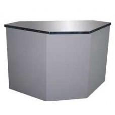 Неохлаждаемый прилавок - кассовый расчетный стол Полюс У-2