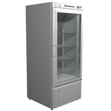 Холодильный шкаф Carboma R560 C со стеклянной дверью Полюс