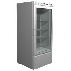 Холодильный шкаф Carboma R700 С со стеклянной дверью Полюс