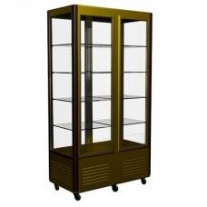 Кондитерский холодильный шкаф D4 VM 800-1 Carboma Люкс R800C Полюс