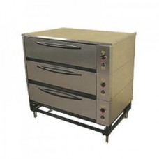 Шкаф пекарский электрический ЭШП-3с 3-х секционный Тулаторгтехника