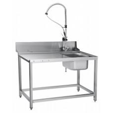 Стол предмоечный СПМП-7-4 для туннельных посудомоечных машин Abat