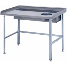 Стол для очистки овощей СО-1/1200/800 ATESY