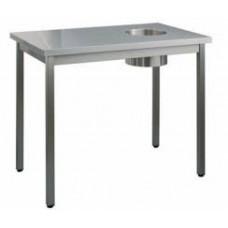 Стол для сбора отходов без борта СОС-10/6-ОН серии Профи RADA