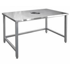Стол для сбора отходов без борта ССО-1 нерж. Abat Чувашторгтехника