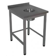 Стол для сбора отходов с бортом СОС-10/6БОН серии Профи RADA