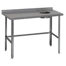 Стол для сбора отходов с бортом СРО-3/1500 ATESY