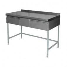 Столы с ящиками для инвентаря и столовых приборов СПЯ–1200В