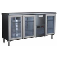 Холодильный стол T57 M3-1-G 0430 со стеклянными дверями Carboma BAR-360C
