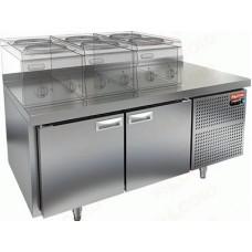 Морозильные столы GN/BT LT и GN/BT LT SH HICOLD под тепловое оборудование