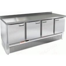 Морозильный стол GNE 1111/BT-W HICOLD Эко линия с нижним расположением агрегата