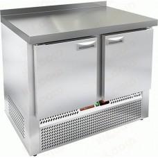 Морозильный стол GNE 11/BT-W HICOLD Эко линия с нижним расположением агрегата