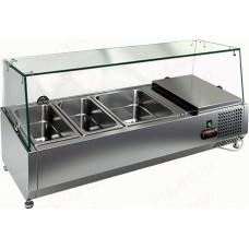 Настольные витрины для холодильных столов HiCold VRTG