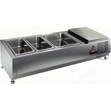 Настольные витрины для холодильных столов HiCold VRTO