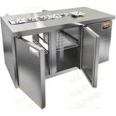 Охлаждаемые столы HiCold для салатовсаладетта сквозные