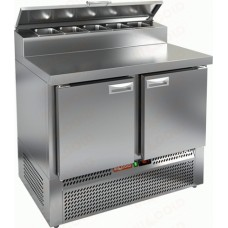 Охлаждаемый стол HiCold для пиццы PZE2-11/GN1/6H